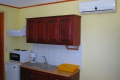 sunrise apartments studio kitchen